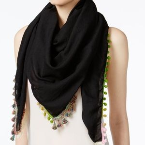 Steve Madden oversized Catalunya scarf